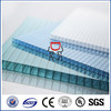 UV coating grade A 4mm/5mm/6mm/8mm/10mm twin wall polycarbonate hollow pc sheet for shed
