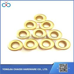12*6*5mm high quality metal eyelet round brass garment / shoe eyelet