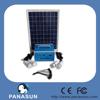 led mini solar light kits for home wih LED light and solar panel