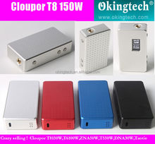 Cloupor T8 150W Back Cover Box Mod T8 T8 150W E cigarette/exgo w2