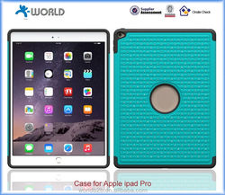 2 in 1 Crystal Diamond Hard Case & Silicone Cover for ipad pro
