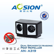 Dual Speaker Frequency Conversion Ultrasonic Pest Repeller