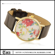 China Supplier Hot Sale High Quality Products Cheap Fashionable Jewelry Leather Wrist Watch