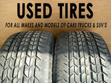 Used tyres for Export 80.000 tyres on stock