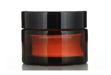 Popular Airless Acrylic Day and Night Glass Cream Jar for Cosmetic Skin Care Wholesale