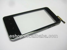 Original Black Touch Screen Digitizer with Frame for LG Optimus 2X P990 P999 Black