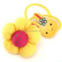 1 Pcs New Baby Children Hair Band Flower Rubber Bands Elastic Ties Holder Headwear Accessories