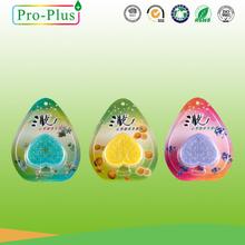 Hot sales 50g gel perfume Shaped perfume bottle,Feature Room Air Fresheners