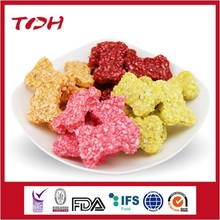 colorful bone shape rawhide grain bones OEM dog snacks dog chews pet food