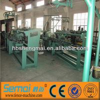 low price diamond mesh making machine high quality manufacture