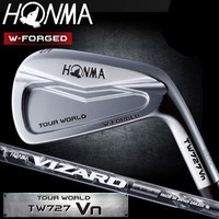Honma TOUR WORLD TW727V W-FORGED Iron set of 6 pcs (#5-#10) VIZARD IB95 Graphite carbon shaft Specification forged golf irons