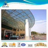 Polycarbonate panel roof skylight
