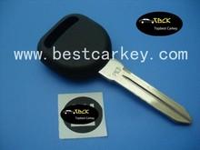 "High quality key transponder chip car key with 46 locked chip no logo ""circle +"" on the blade for GM transponder key"
