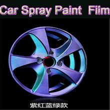 2015 best fashion chameleon uv waterproof acrylic lacquer aerosl spray paint for cars/rubber spray paint/black blue gold purple