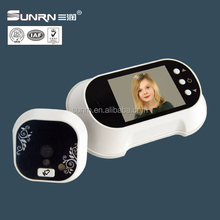 Villa entrance digital door viewer with night vision and 2.8inch color indoor phone