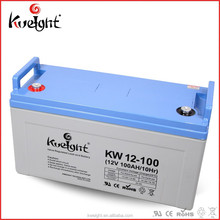 Hot sale 12v 100ah deep cycle agm battery for ups and solar power system