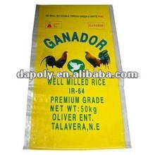 Recycle packing PP Laminated Woven Promotional sack