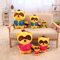 2015 Newest 2 PIC New couple the Bear Stuffed Plush Doll Bear Toys (20cm) & free shipping