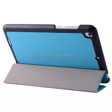 Factory Direct Sale 3-folding Snow Pattern Flip Tablet Leather Case for Xiaomi Mi Pad,Magnetic Cover for Mi Pad Android Pad