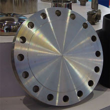 ansi 304 316 stainless steel pipe fitting forged din standard blind flange made in china and accpet D/P and O/A