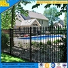 Decorative Wrought Iron Fence Panel Design for Garden