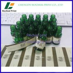 Newly custom pharmaceutical vial labels printing