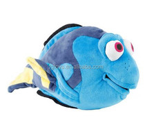 Sea animal plush and stuffed toys 12inch blue fish toys