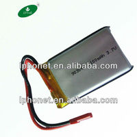 903042 3.7v 1100mah rechargeable lithium battery for laptop