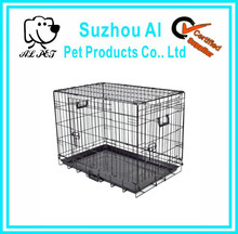 New Pet Puppy Dog Crate Kennel Metal Folding Cage Cat Carrier Tray Portable