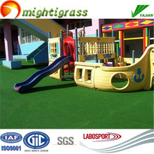 BV inspection artificial grass for school decoration
