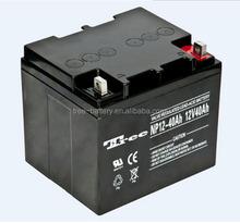 Lead Acid Battery 12V 40AH VRLA MF Solar UPS 24 Volt Battery