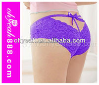 High quality g string lace lingerie panty girls photos Open Butt underwear sex lingerie