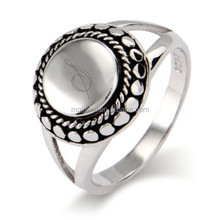 Customized rings from stainless steel metal for family reunion memory