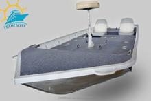 CE certificate aluminium bass bait boat for sale