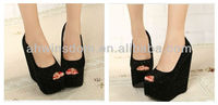 2013 NEW EUROPEAN AND AMERICAN SEXY DIAMOND SLOPE WITH THE FISH HEAD HIGH HEEL SHOES,PARTY SHOES