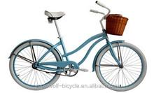 best chrismas gift bike women Beach Cruiser Bike discount from China factory SW-BC-w21