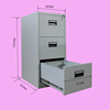 3 drawer strong steel storage orocan cabinet