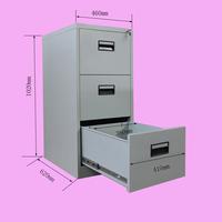 3 drawer strong steel storage orocan cabinet