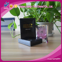 Vibrating Condom in Customized Box Package with Pictures