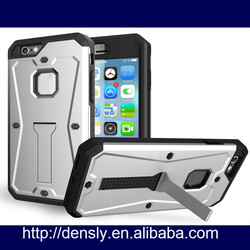 Wholesale for iphone 6 case mobile phone back cover PC+TPU tank style combo phone case