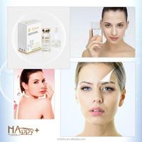 Unique formula extreme skin moisturizing Happy+ QBEKA ageless serum pure hyaluronic acid serum