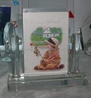 New Custome Glass Photo Frame New Models For Home&Office&Wedding Decoration Crystal Photo Frame