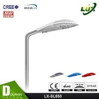 high lumen output CE & RoHs outdoor 220v 230v 240v 150w led street light luminaires