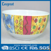 melamine storage bowl set