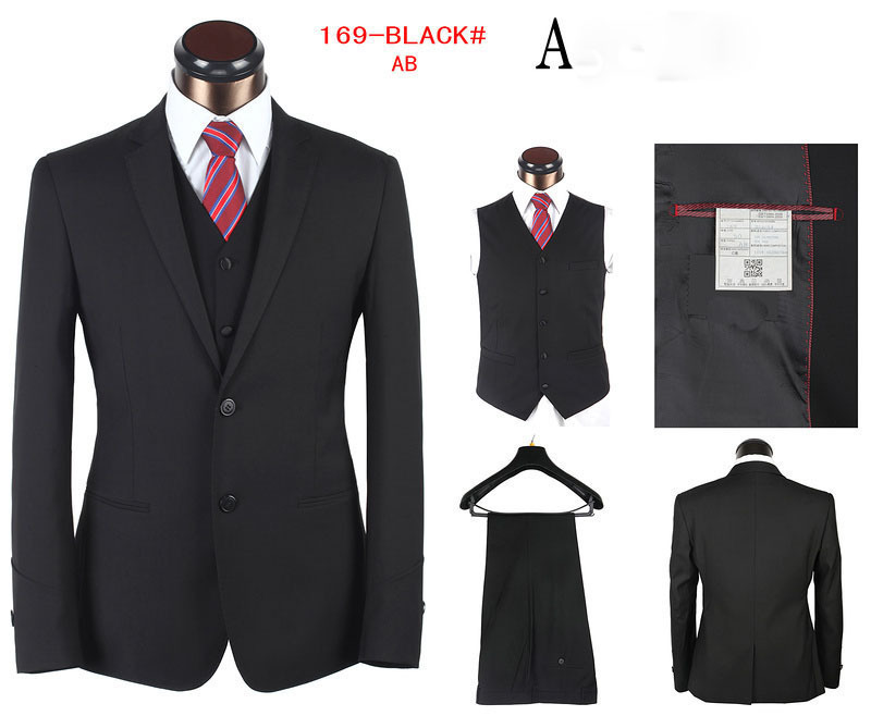 Stylish Wedding Suit For Men Black Men 39 s Wedding Suit 3