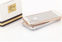 Luxury Diamond Crystal Bling Cover case for iphone 6 china price