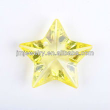 Star shaped beads for Christmas beads decoration 2014
