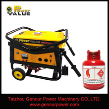 CE Approved Factory LPG Gas generator, Generator price, Natural gas generator 5kw