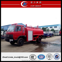 Dongfeng chassis 4x2 fire truck for sale in Europe