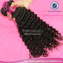 Free shipping, burman myanmar virgin deep curly hair